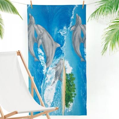 Игривые дельфины