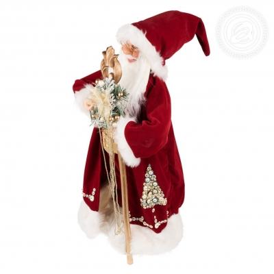 Дед Мороз в длинной шубе