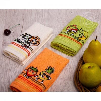 Набор махровых кухонных полотенец