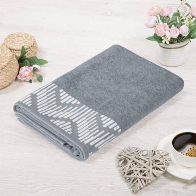 Бруно полотенце махровое (Россия) пепельный