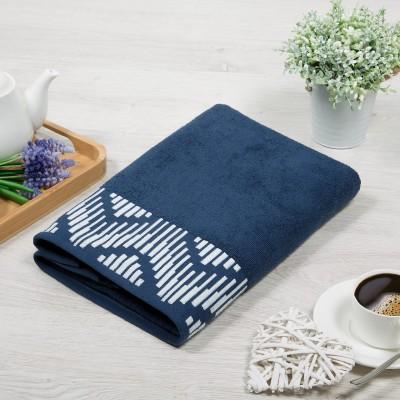 Бруно полотенце махровое (Россия) синий