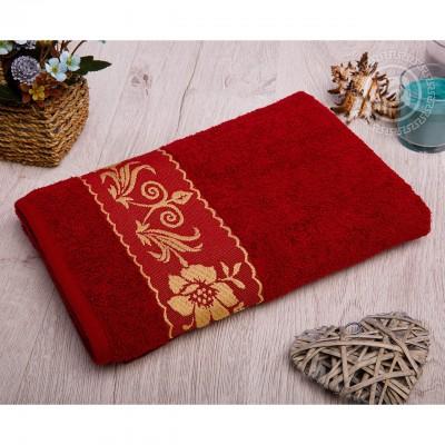 Прованс полотенце махровое (Турция) бордовый