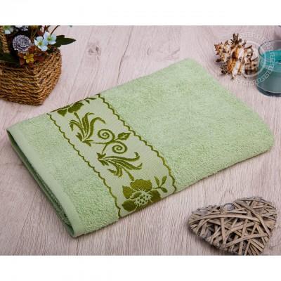 Прованс полотенце махровое (Турция) фисташковый
