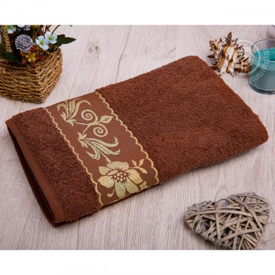 Прованс полотенце махровое (Турция) коричневый