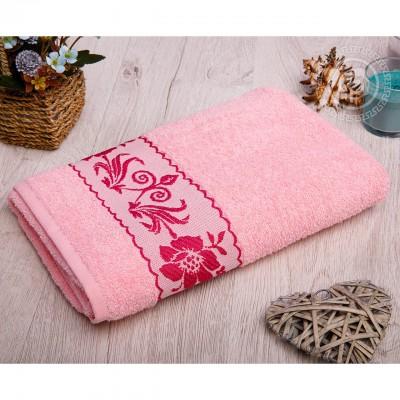 Прованс полотенце махровое (Турция) розовый