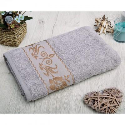 Прованс полотенце махровое (Турция) серый
