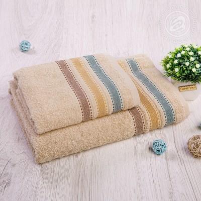 Ренессанс набор полотенец махровых (Турция) бежевый
