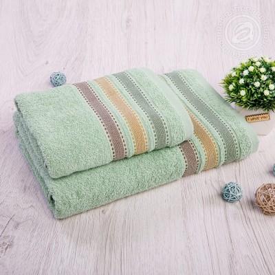 Ренессанс набор полотенец махровых (Турция) фисташковый