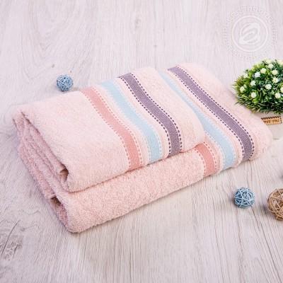 Ренессанс набор полотенец махровых (Турция) пудровый