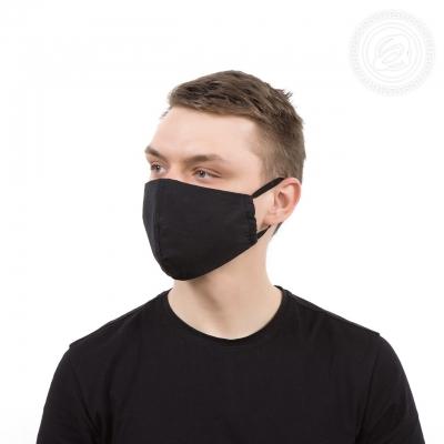 Маска защитная (черная бязь)