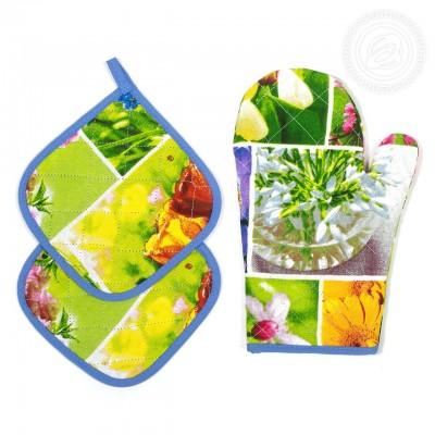 Набор для кухни №2 Первоцветы