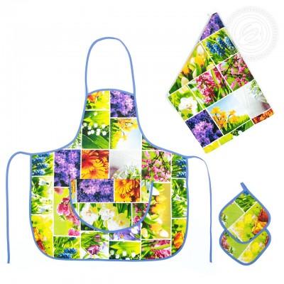 Набор для кухни №3 Первоцветы