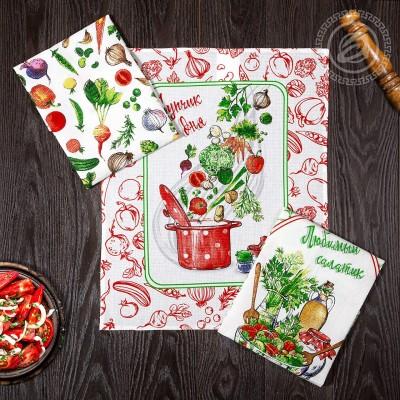 Комплект кухонных полотенец